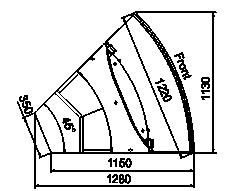 Kühlvitrinen Missouri sapphire AK 115 deli PS/self 125/084-DLA-ER45