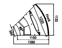 Kühlvitrinen Missouri sapphire MK 115 deli PS/OS/self 125/084-DLM-ER45