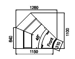 Kühlvitrinen Missouri sapphire MK 115 deli PS/OS/self 125/084-DLM-IR45