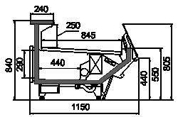 Kühlvitrinen Missouri sapphire MK 115 deli self 084-DBM