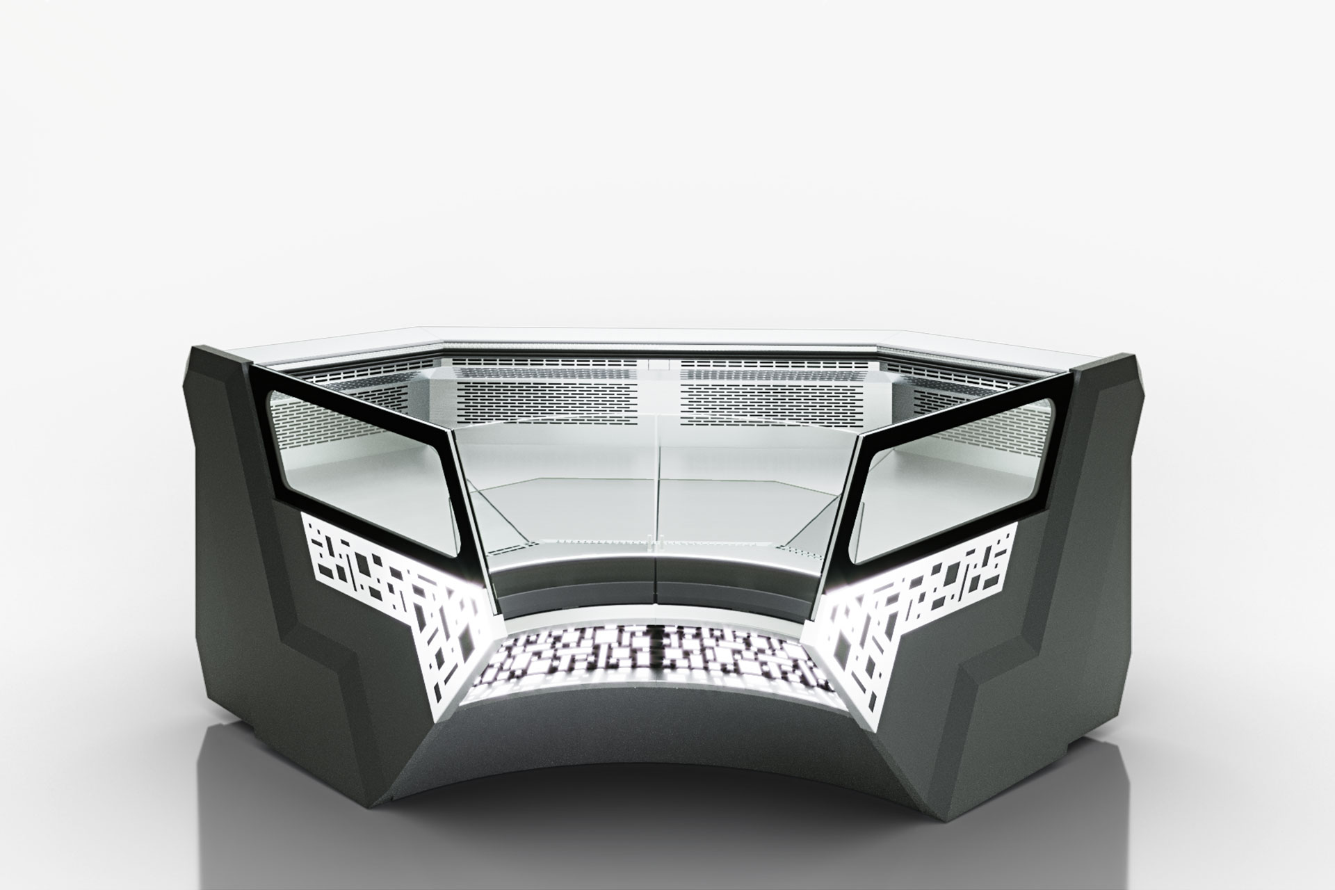 Витрина Missouri sapphire MK 115 deli self 125-DLM-IR90