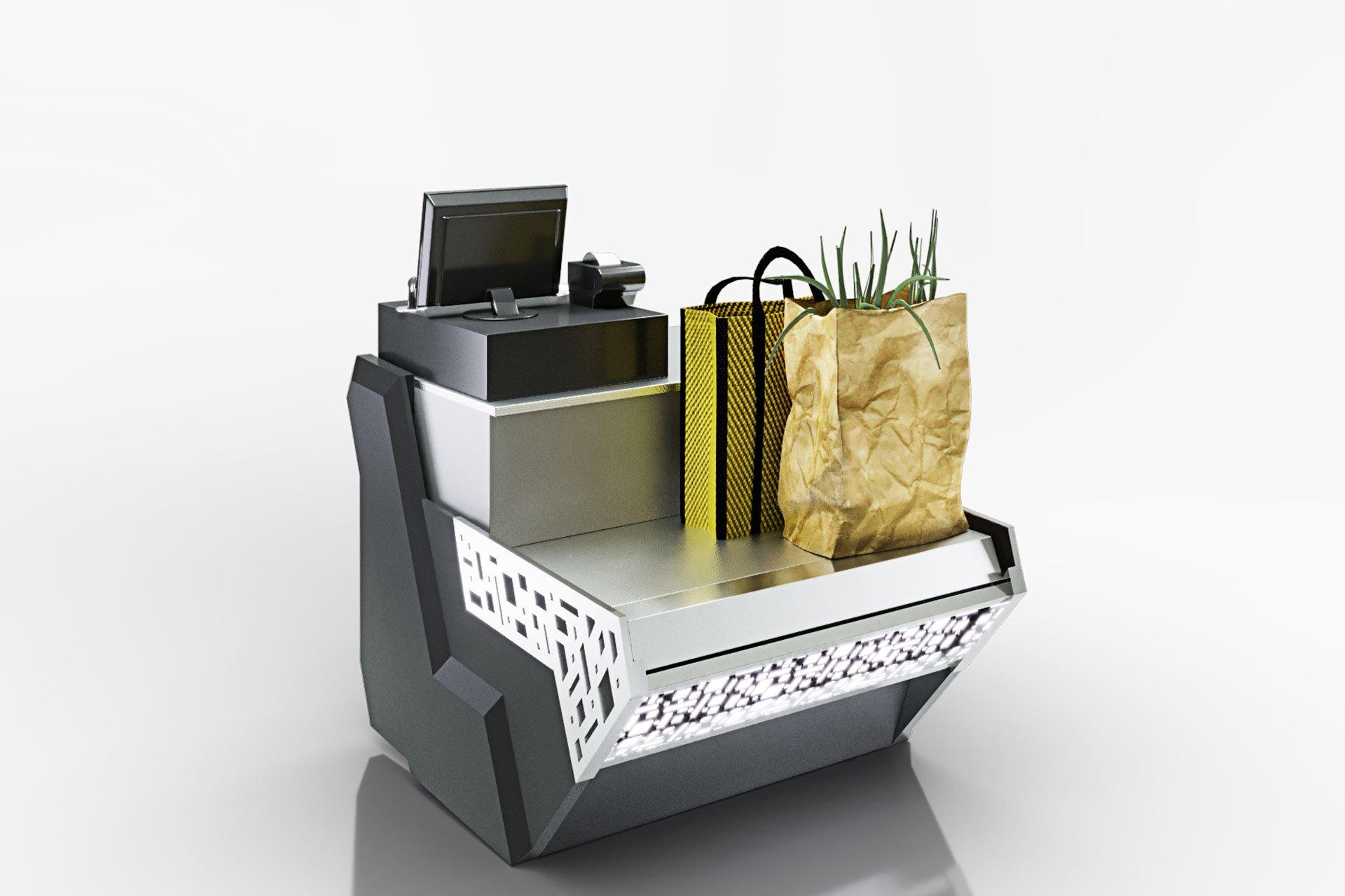 Вітрини Missouri sapphire NK 115 cash desk 084