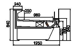 Kühlvitrinen Missouri сold diamond MC 126 self 084-DLM