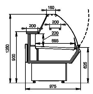 Counter Symphony AG 097 deli OS 122-SBA