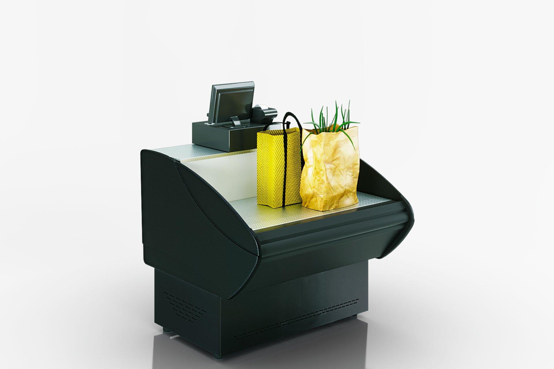 Вітрини Prima NG 090 cash desk 086