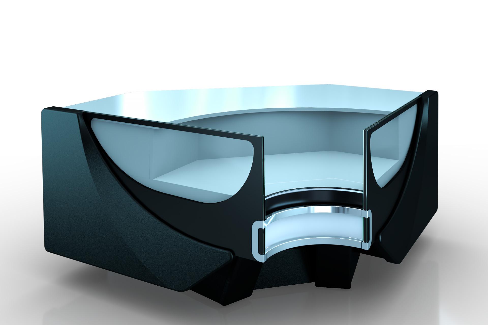 Refrigerated counters Missouri cold diamond MC 125 deli self 084-IR90
