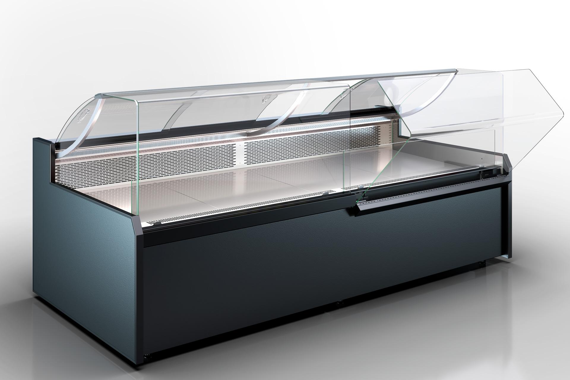 Refrigerated counters Missouri MC 120 deli OS 120-DBM (option)