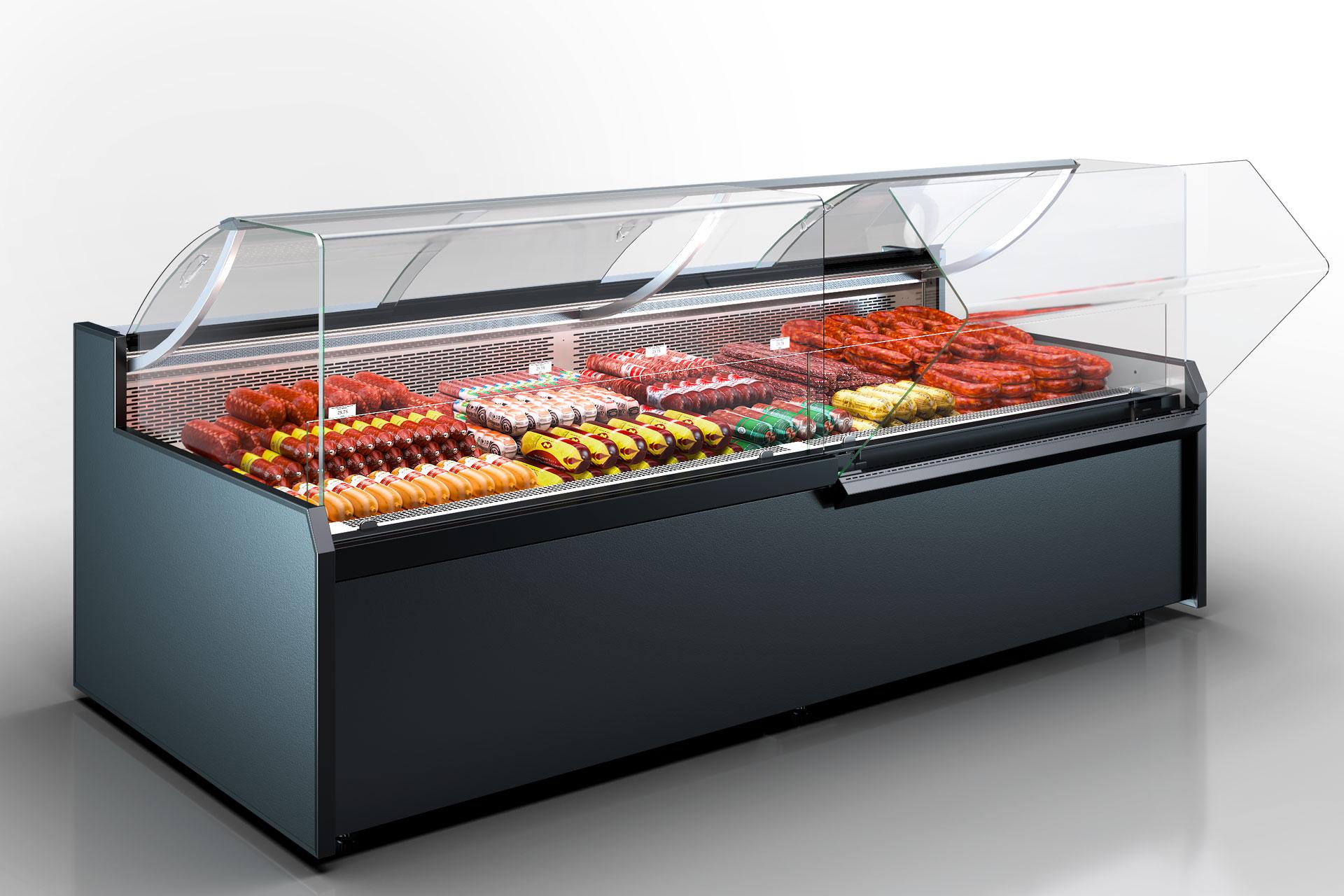 Refrigerated counters Missouri MC 120 deli OS 130-DBM (option)