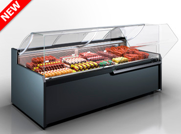 Refrigerated counters Missouri MC 120 deli OS 130-DBM (option)