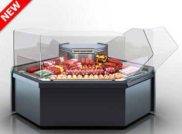 Кутові елементи холодильних вітрин Missouri MC 120 deli OS 120-DLM-ES90