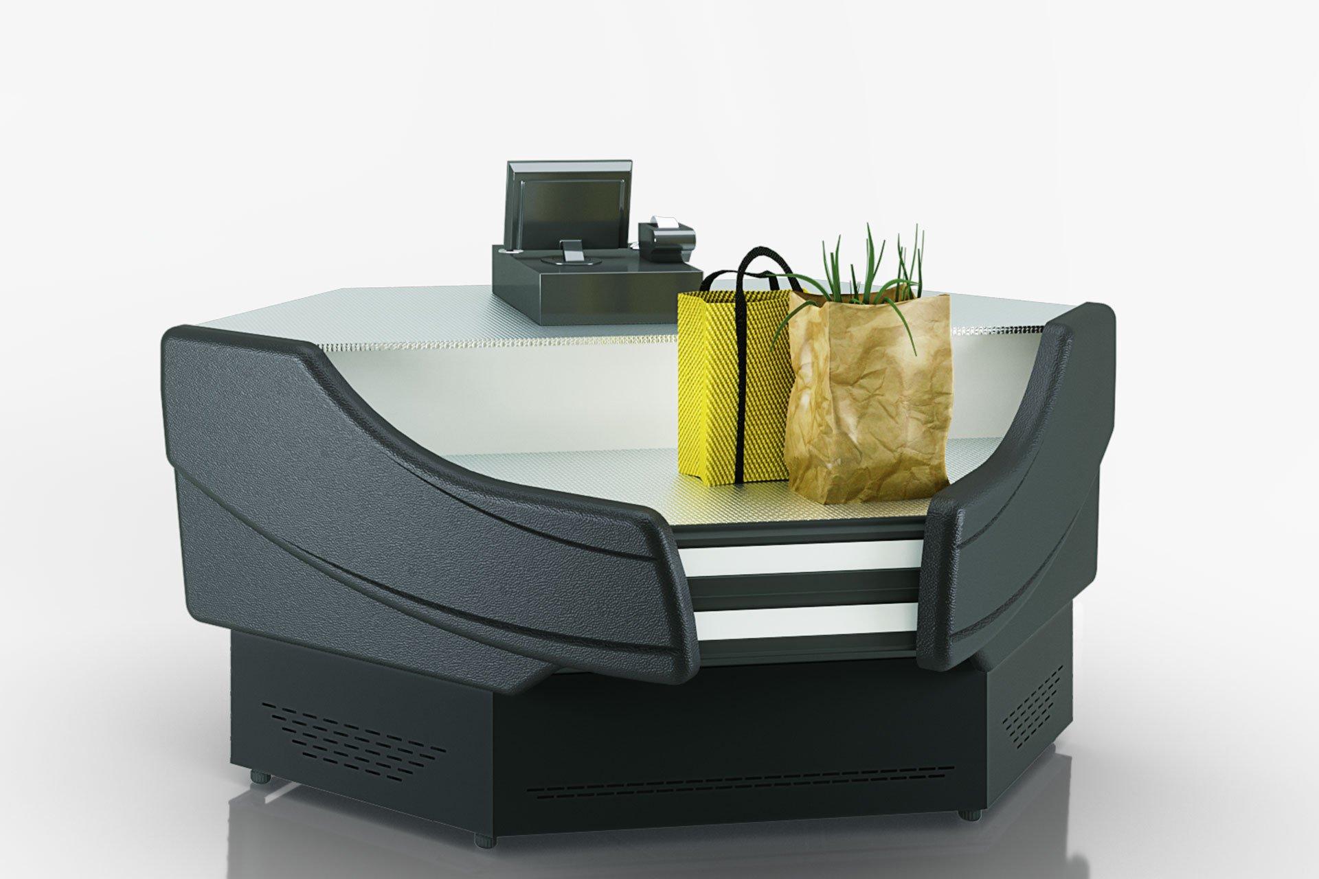Вітрини Sonata NG 120 cash desk 125-IS90