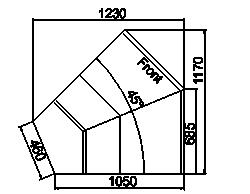 Counters Symphony MG 100 deli T/T2 110-DLM/DLA-ES45