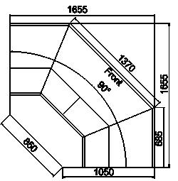 Counters Symphony MG 100 deli T/T2 110-DLM/DLA-ES90