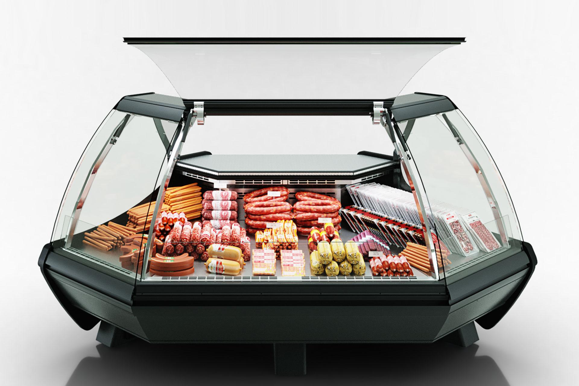 Kühlvitrinen Symphony luxe MG 100 deli PS 125-DLM-ES90