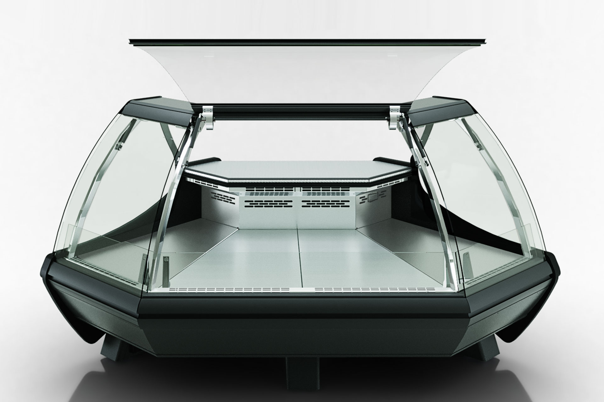 Вітрина Symphony luxe MG 100 deli PS 125-DLM-ES90