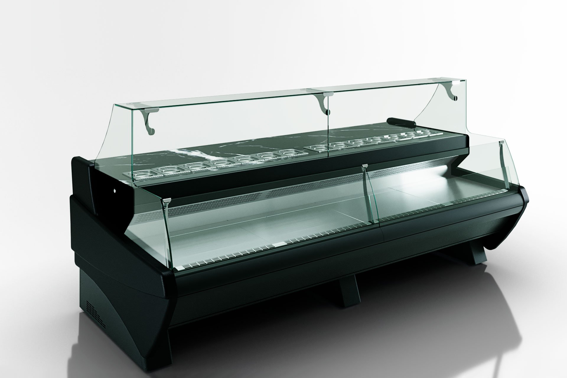 Symphony luxe MG 120 sushi/pizza combi L/self 125-DBM