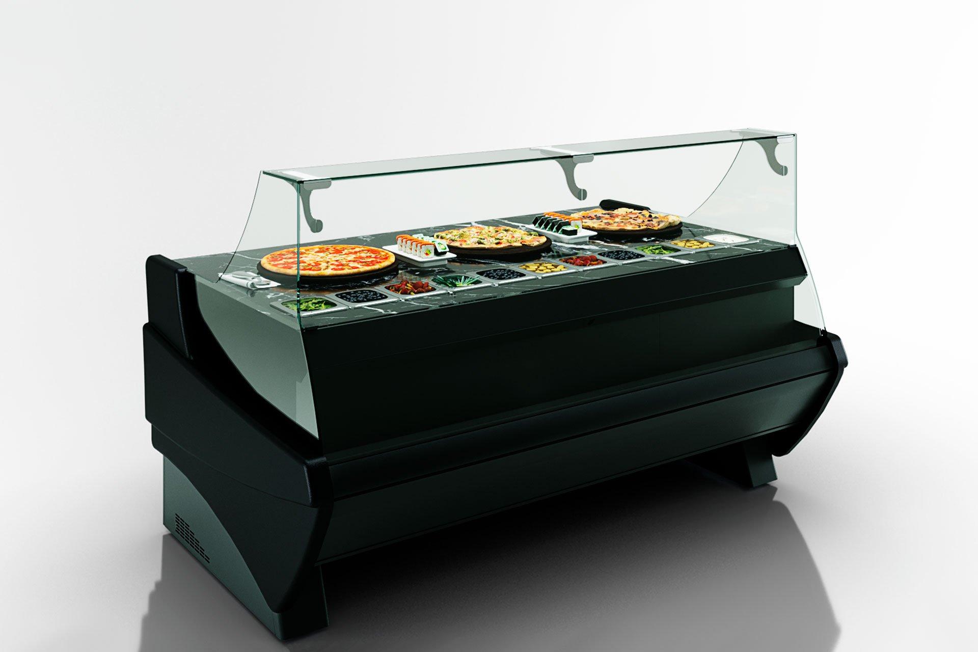 Kühlvitrinen Symphony luxe MG 120 sushi/pizza L 125-DBM