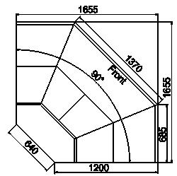 Kühlvitrinen Symphony MG 120 deli T-T2 110-DLM-ES90
