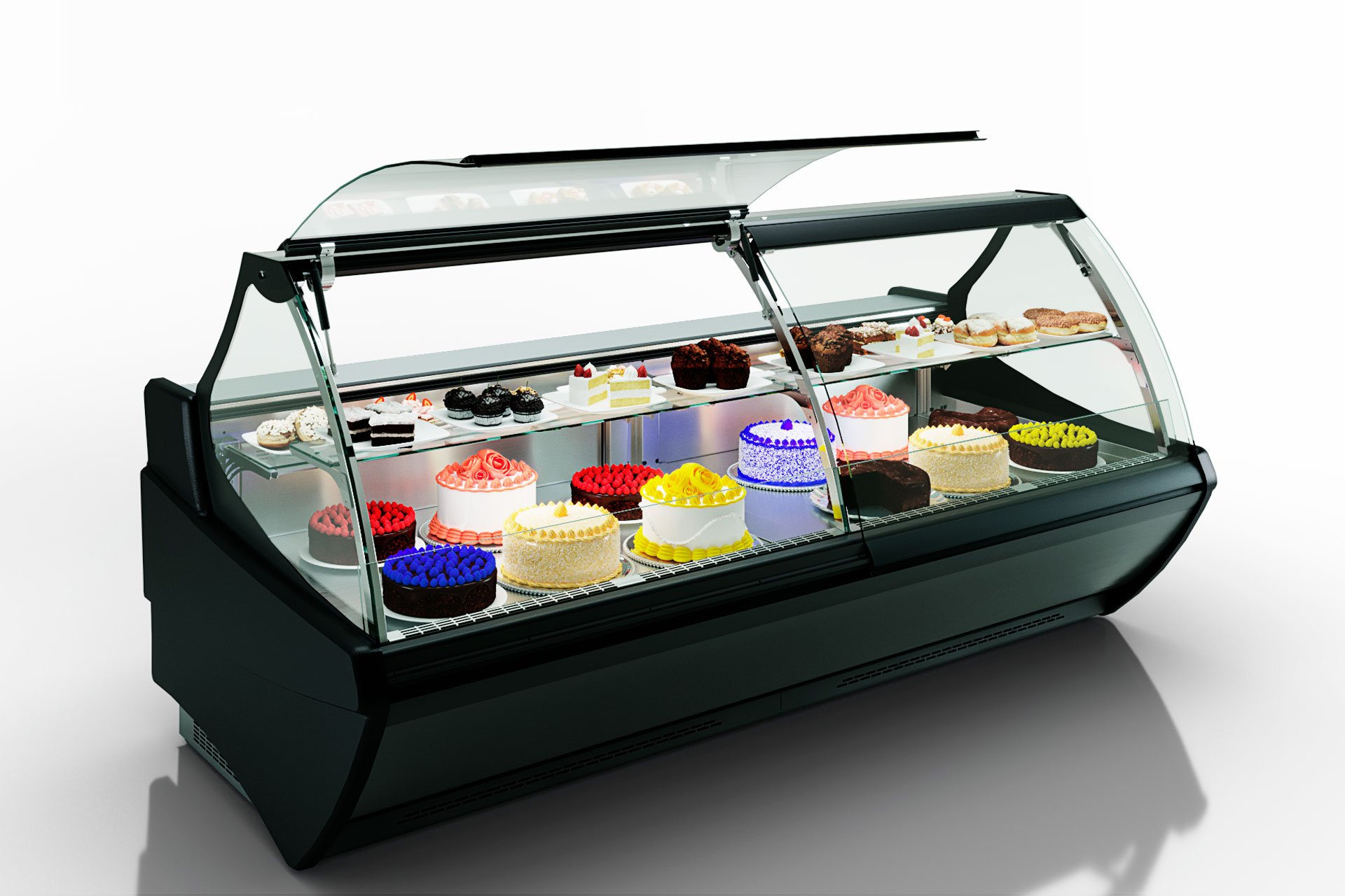 Вітрини Symphony MG 120 patisserie PS 125-DLM