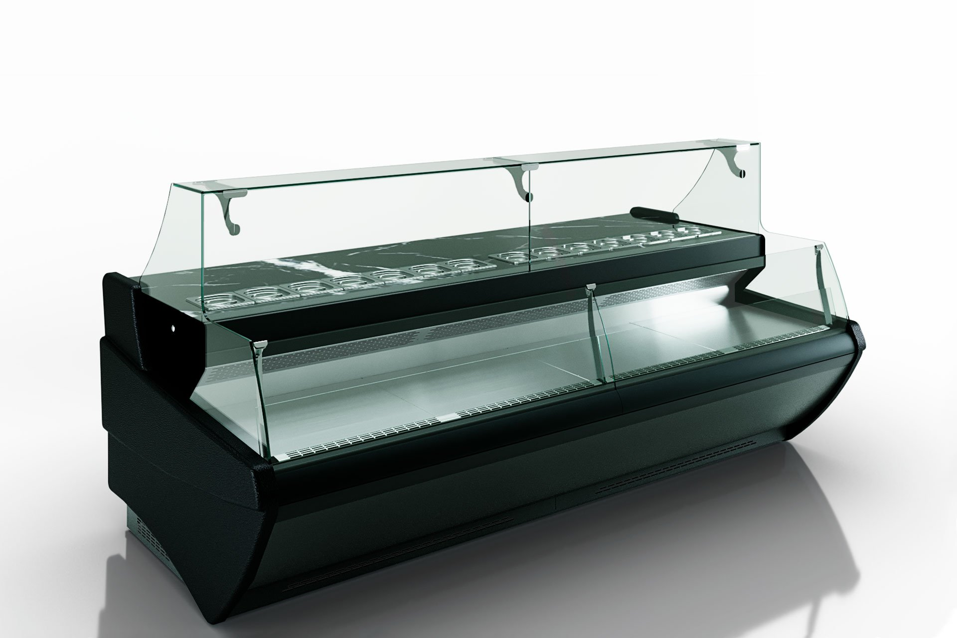 Витрины Symphony MG 120 sushi/pizza combi L self 125-DBM//DBA