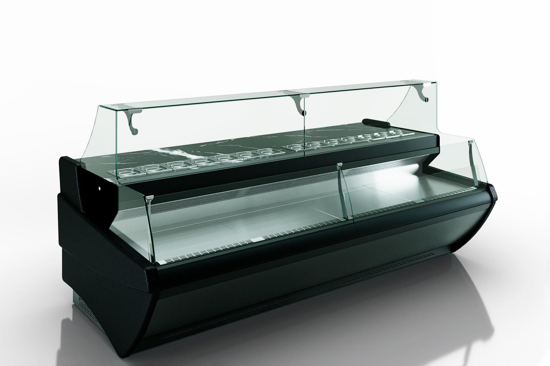 Kühlvitrinen Symphony MG 120 sushi/pizza combi L self 125-DBM//DBA