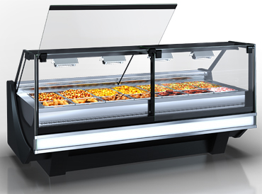 Wärme-Vitrine Missouri cold diamond NC 125 heat BM PS