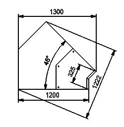 Вітрини Missouri NC 120 PP 130-IS45