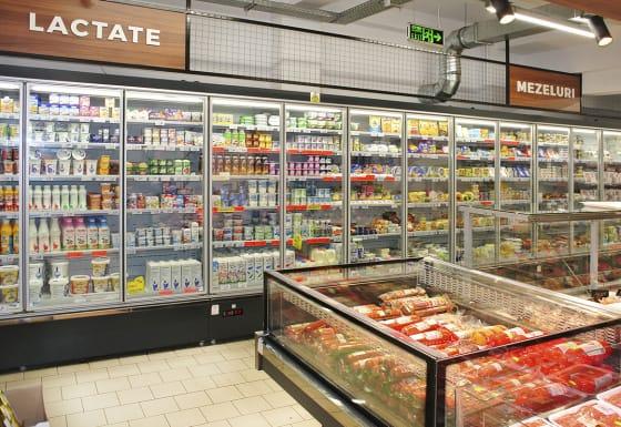 Convenience store in Romania
