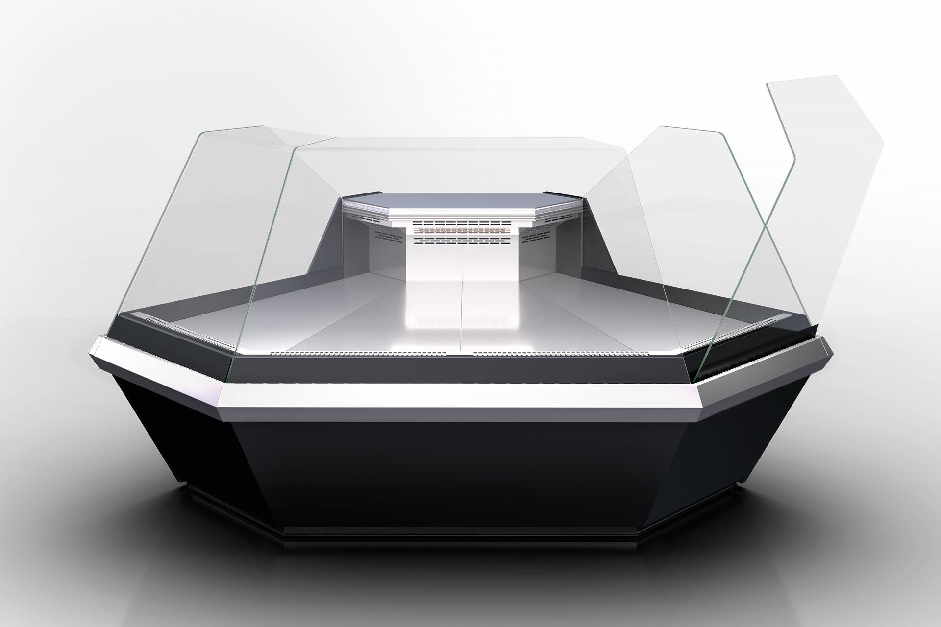 Кутовий елемент холодильної вітрини Missouri enigma MK 120 deli OS 120-DLM-ES90