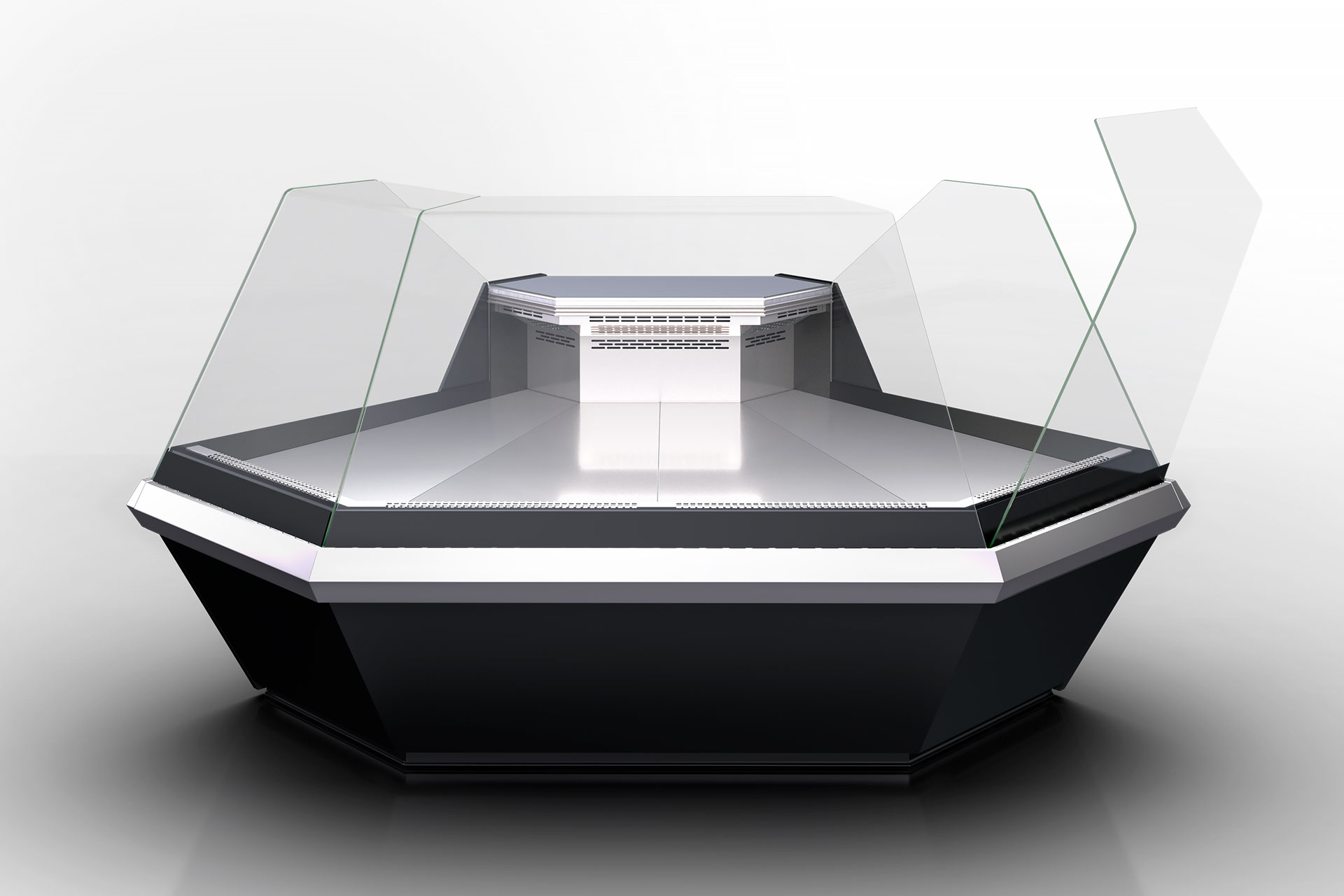 Угловой элементs холодильных витрин Missouri enigma MK 120 deli OS-DLM-ES90