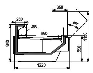 Kühlvitrinen Missouri enigma MC 120 deli OS 115-DBM