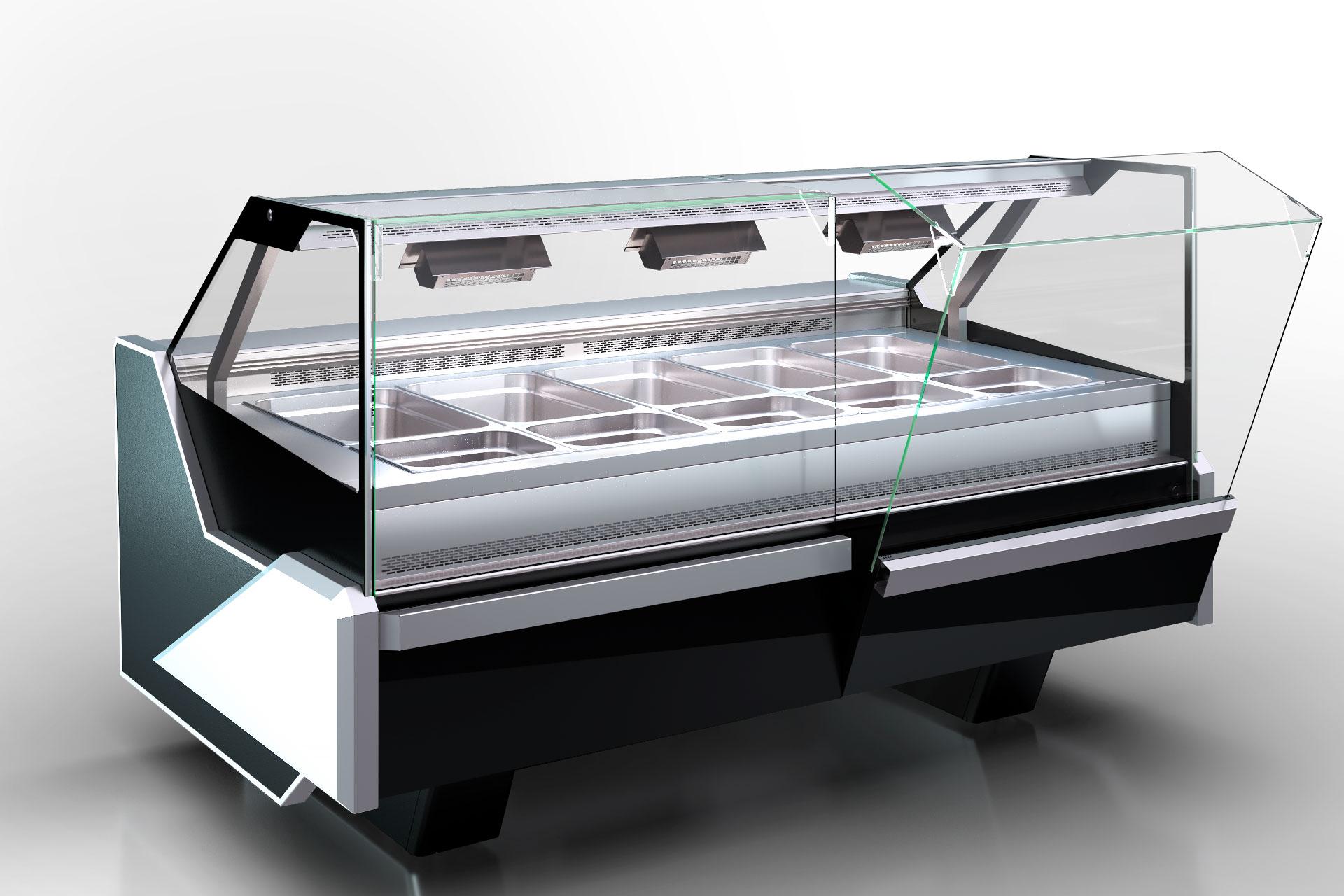 Kühlvitrinen Missouri enigma NC 125 heat BM OS 120