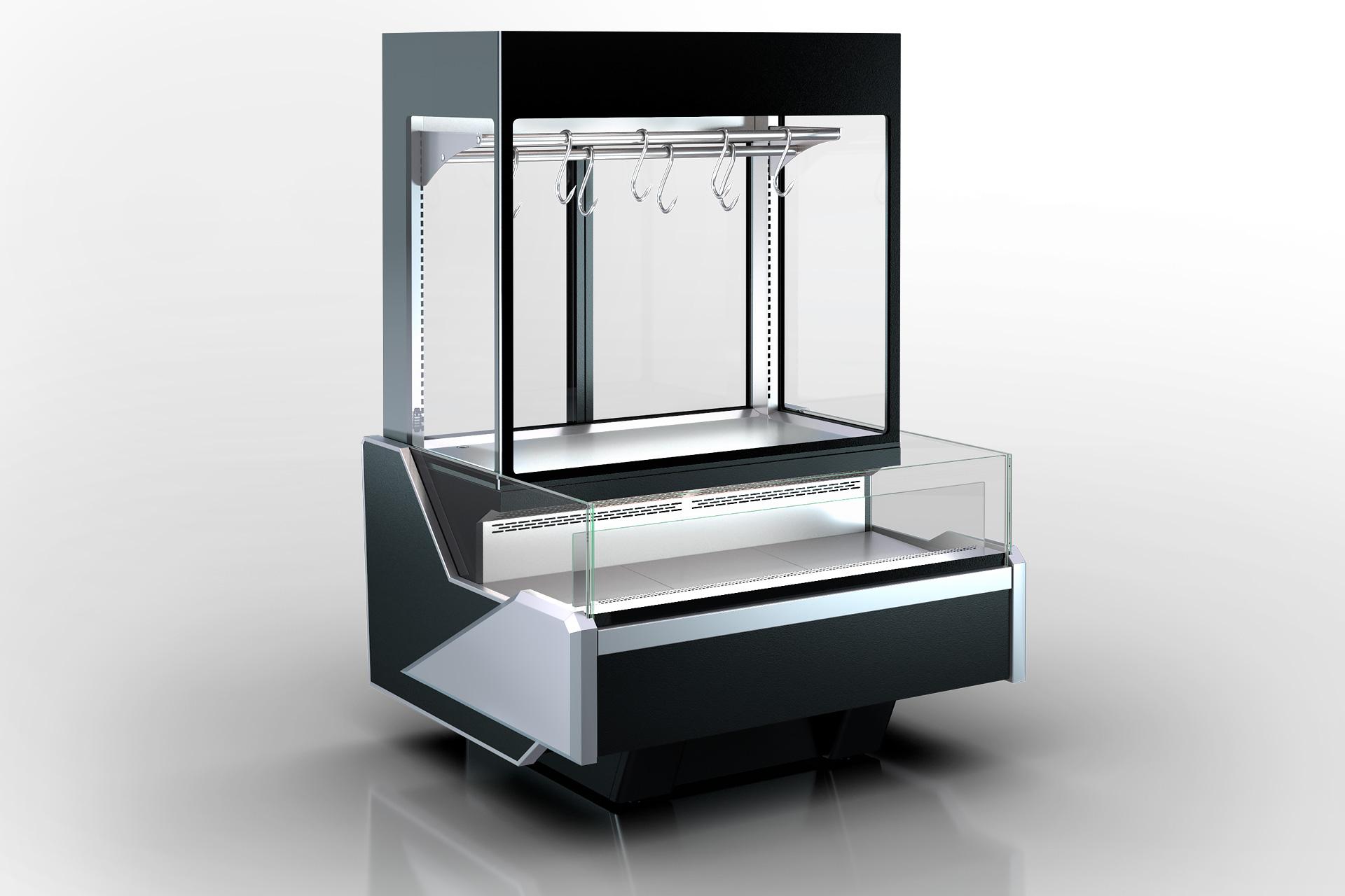 Холодильна вітрина Missouri Enigma MC 122 crystal combi S/self 200- S/DBM/DBA