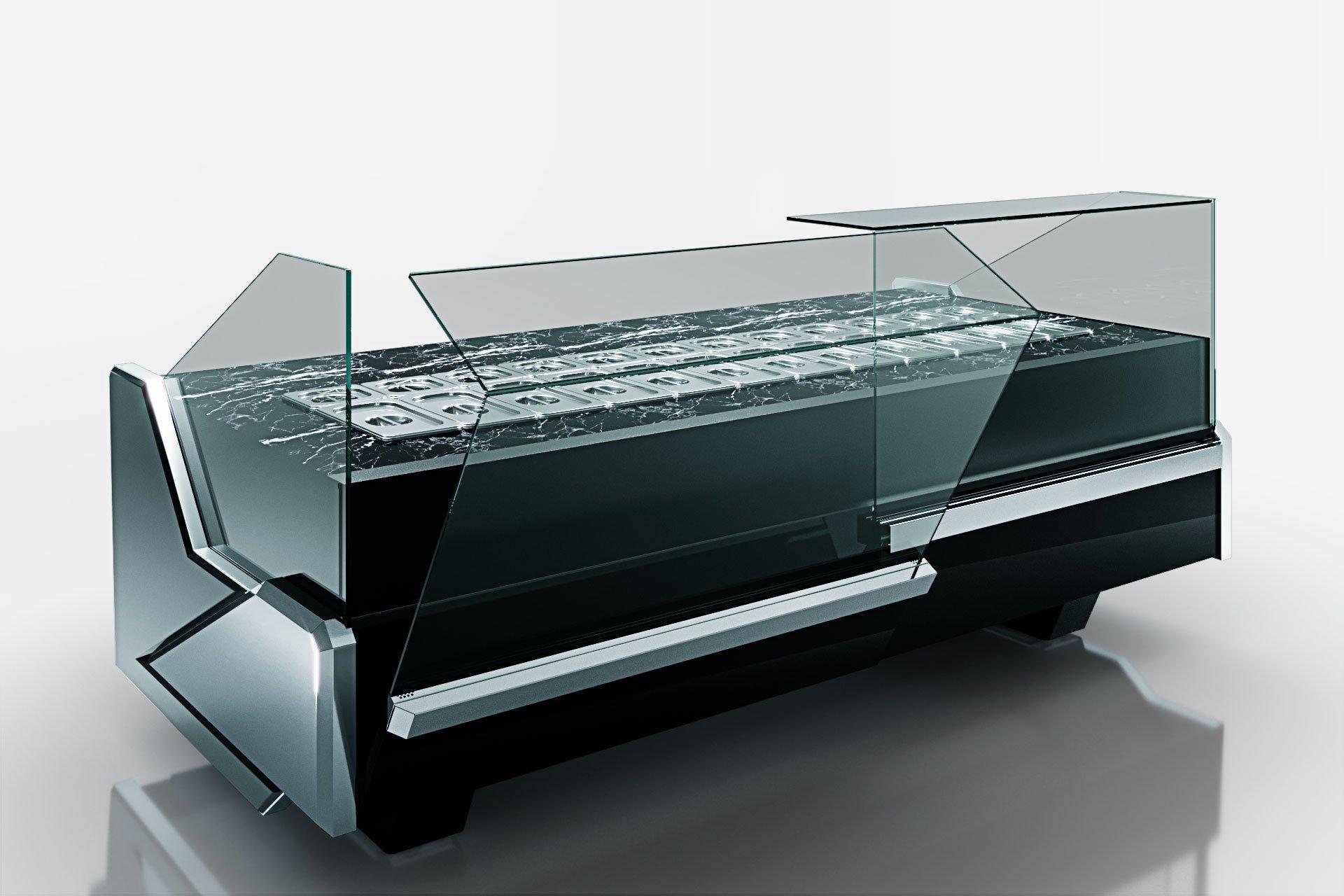 Kühlvitrinen Missouri Enigma MC 125 sushi/pizza OS 2 120-DBM