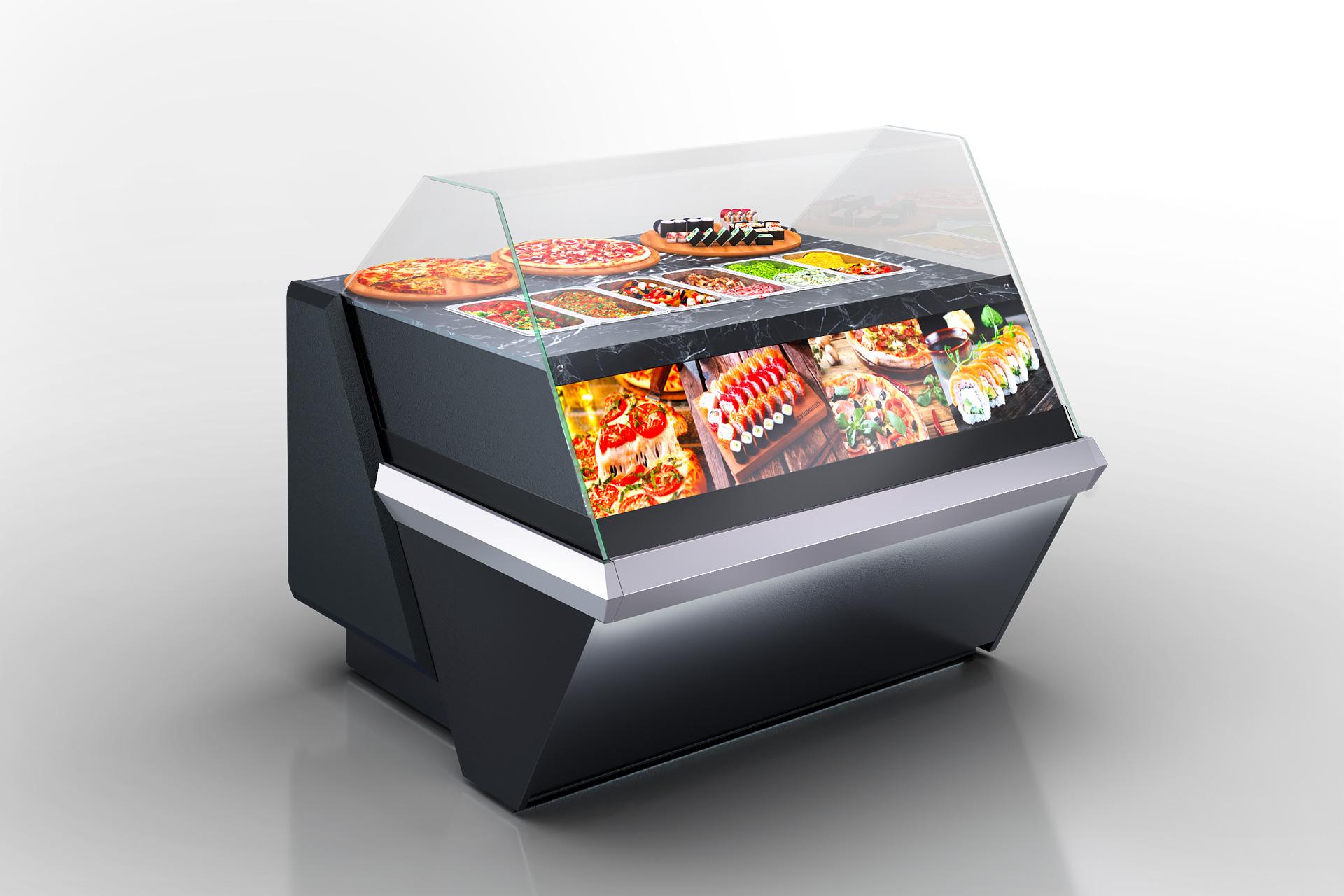 Kühlvitrinen Missouri enigma MK 120 sushi/pizza OS 120-DBM