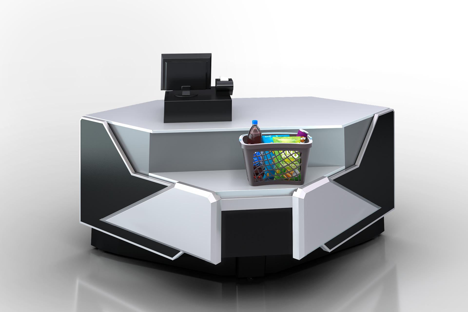 Вітрина Missouri enigma NC 122 cash desk 084-IR90