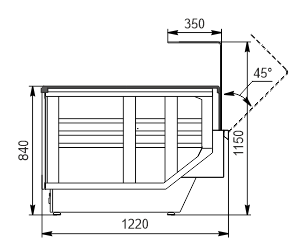 Vitrinen Мissouri enigma NC 122 OS 115