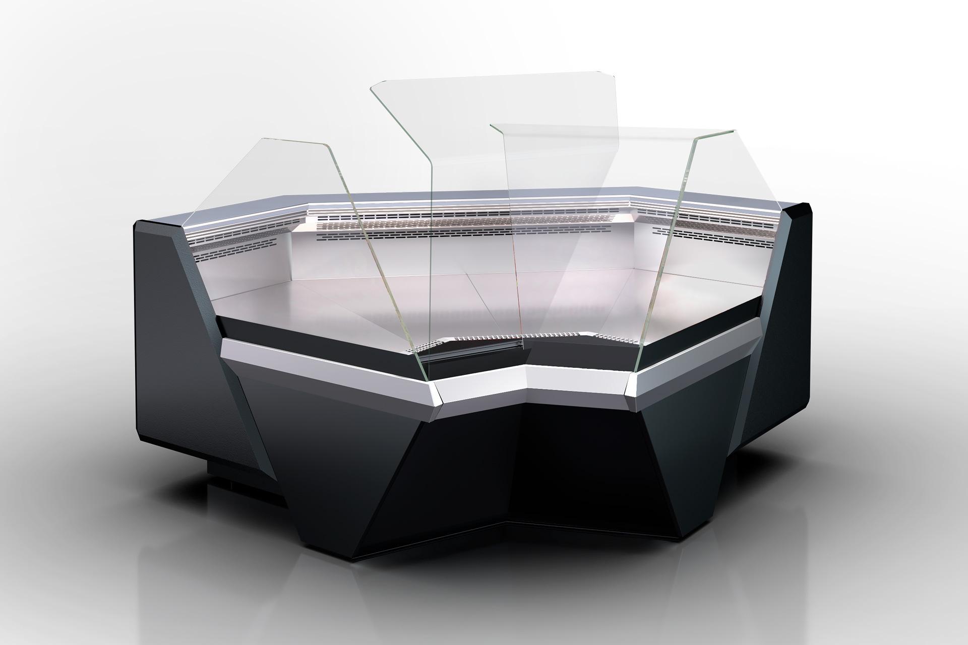Кутовий елемент холодильної вітрини Missouri enigma MK 120 deli OS 120-DBM-IS90