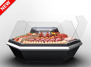 Кутовий елемент холодильної вітрини Missouri enigma MK 120 deli OS-DLM-ES90