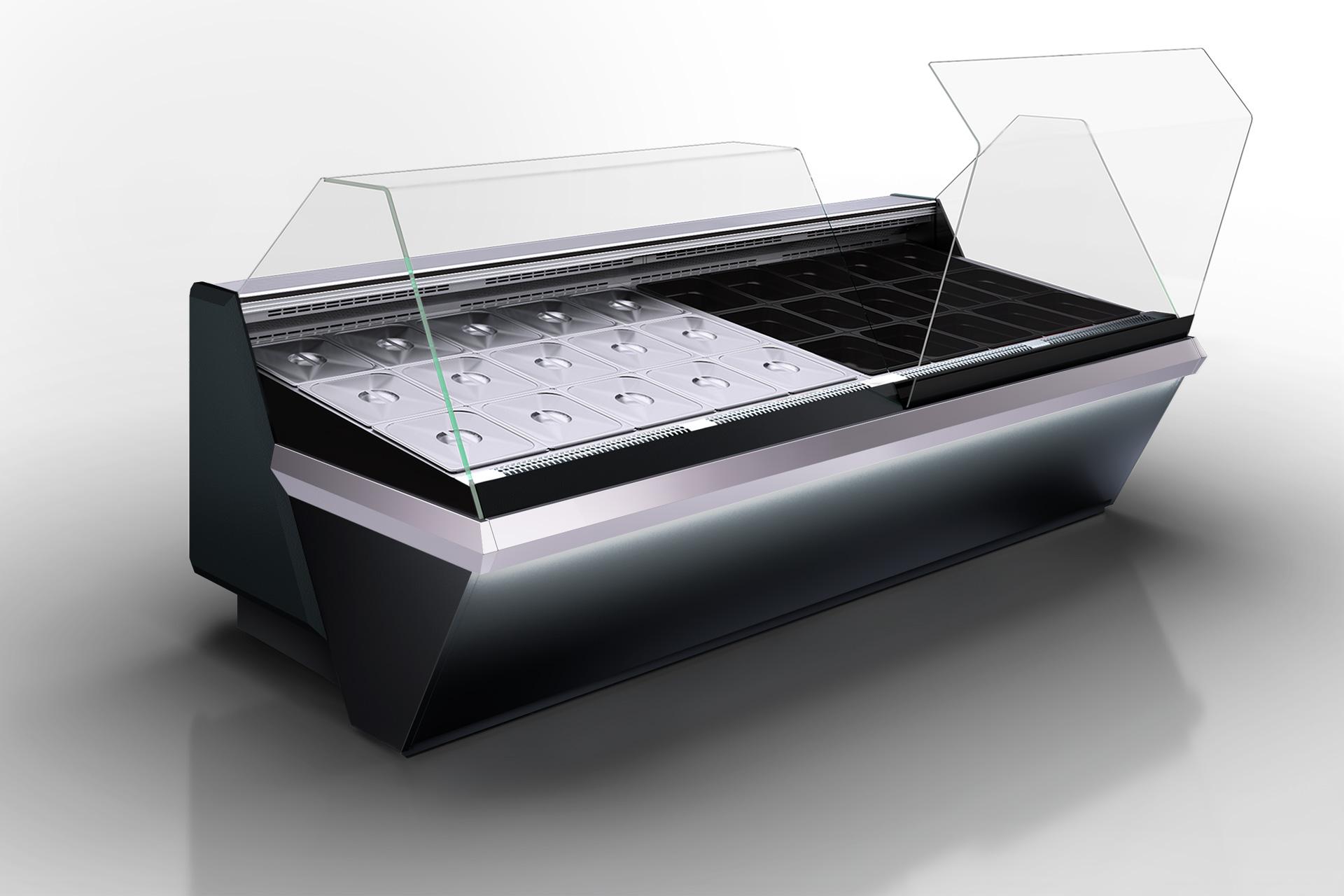 Refrigerated counters Missouri enigma MK 120 deli OS 120-DBM (option)