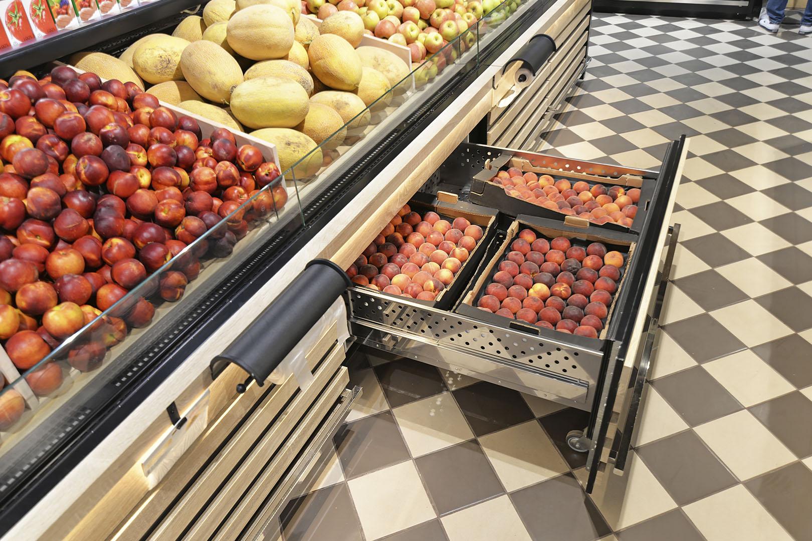 Спеціалізовані вітрини для продажу овочів та фруктів Missouri VF MC 110 VF self 110-DBM