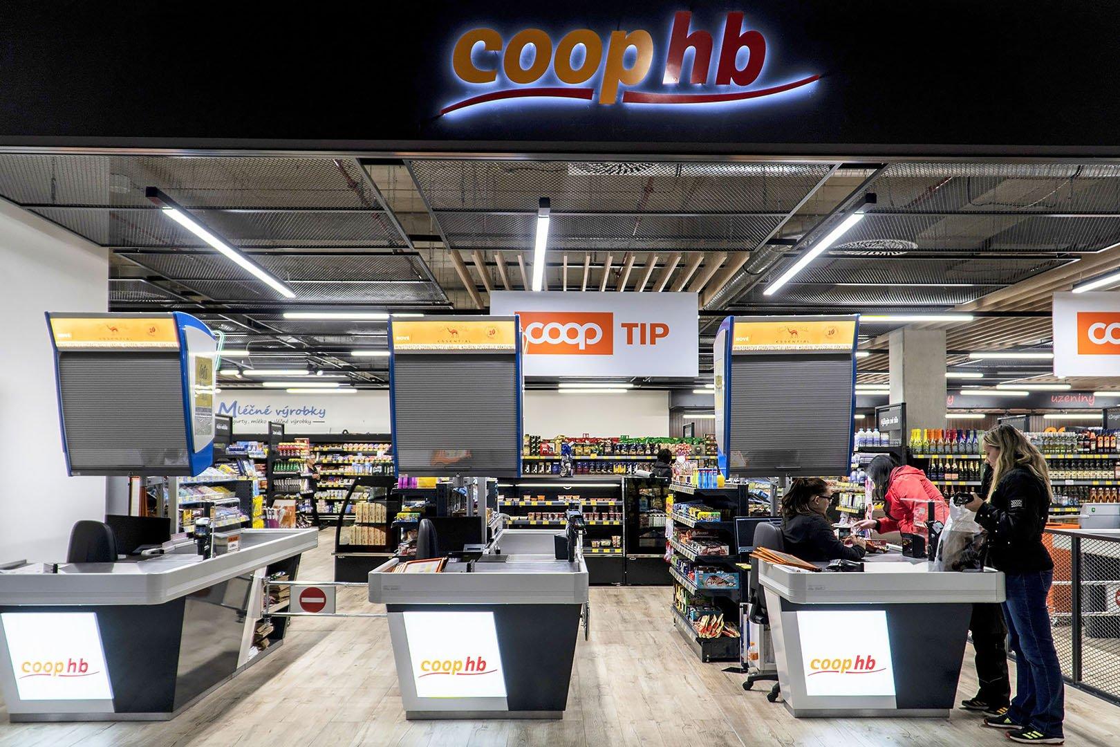 Магазин Coop