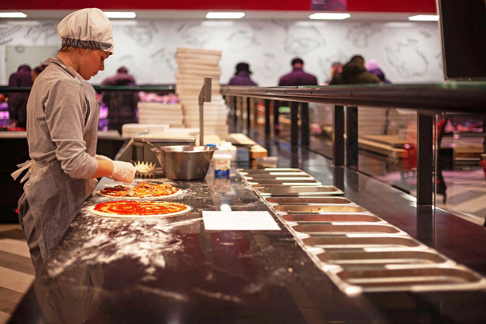 Counters Missouri cold diamond MC 126 sushi/pizza PS 130-DBM