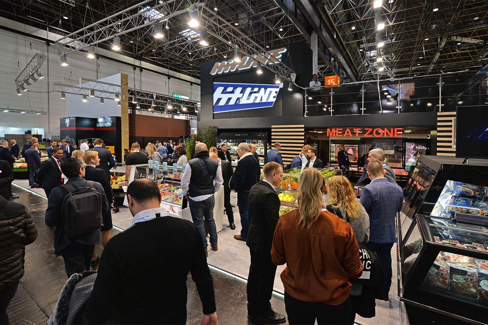 Стенд компании Хитлайн на выставке EuroShop 2020