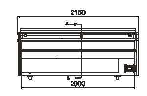 Вітрини для заморожених продуктів Dupla AH 147 LT C A