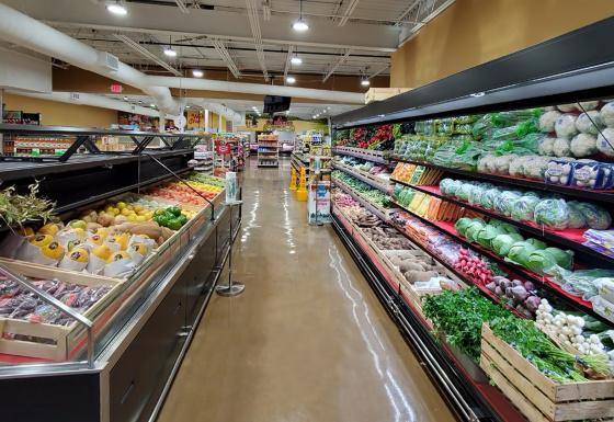 Супермаркет, штат Теннесси, США