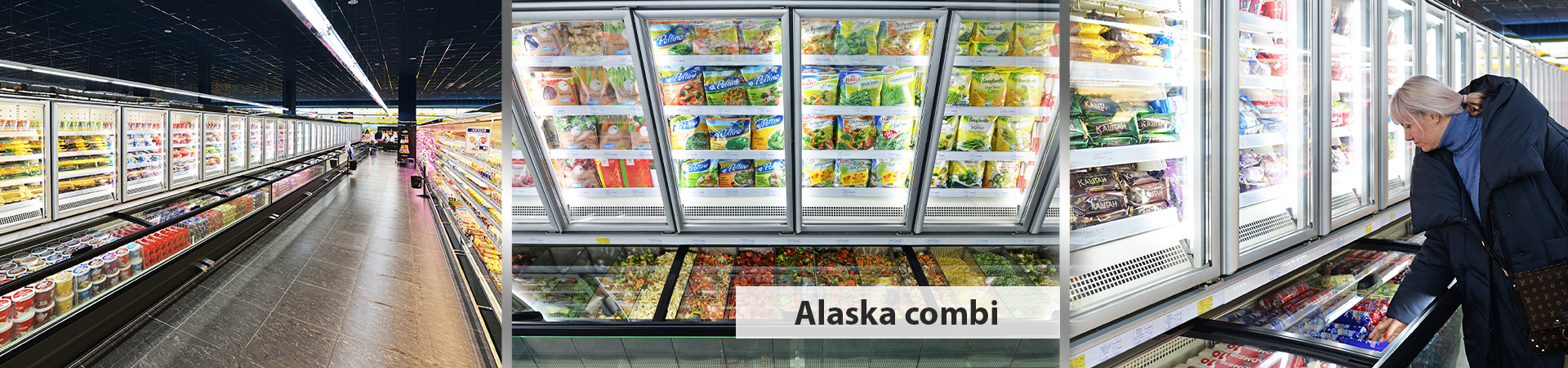Frozen foods units Alaska combi