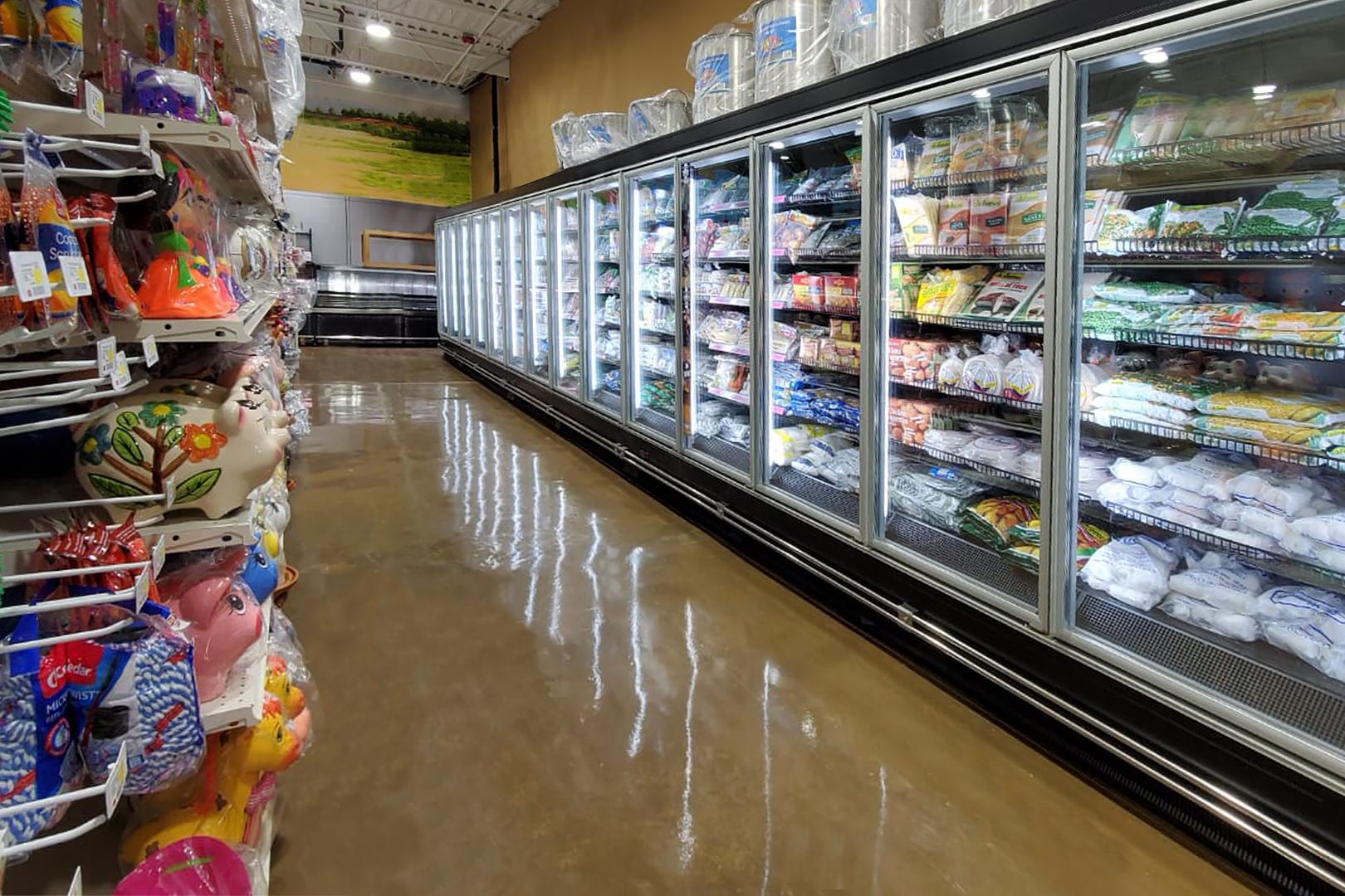 Витрины для замороженных продуктов Indiana tandem MD 090 LT D 210-DLM