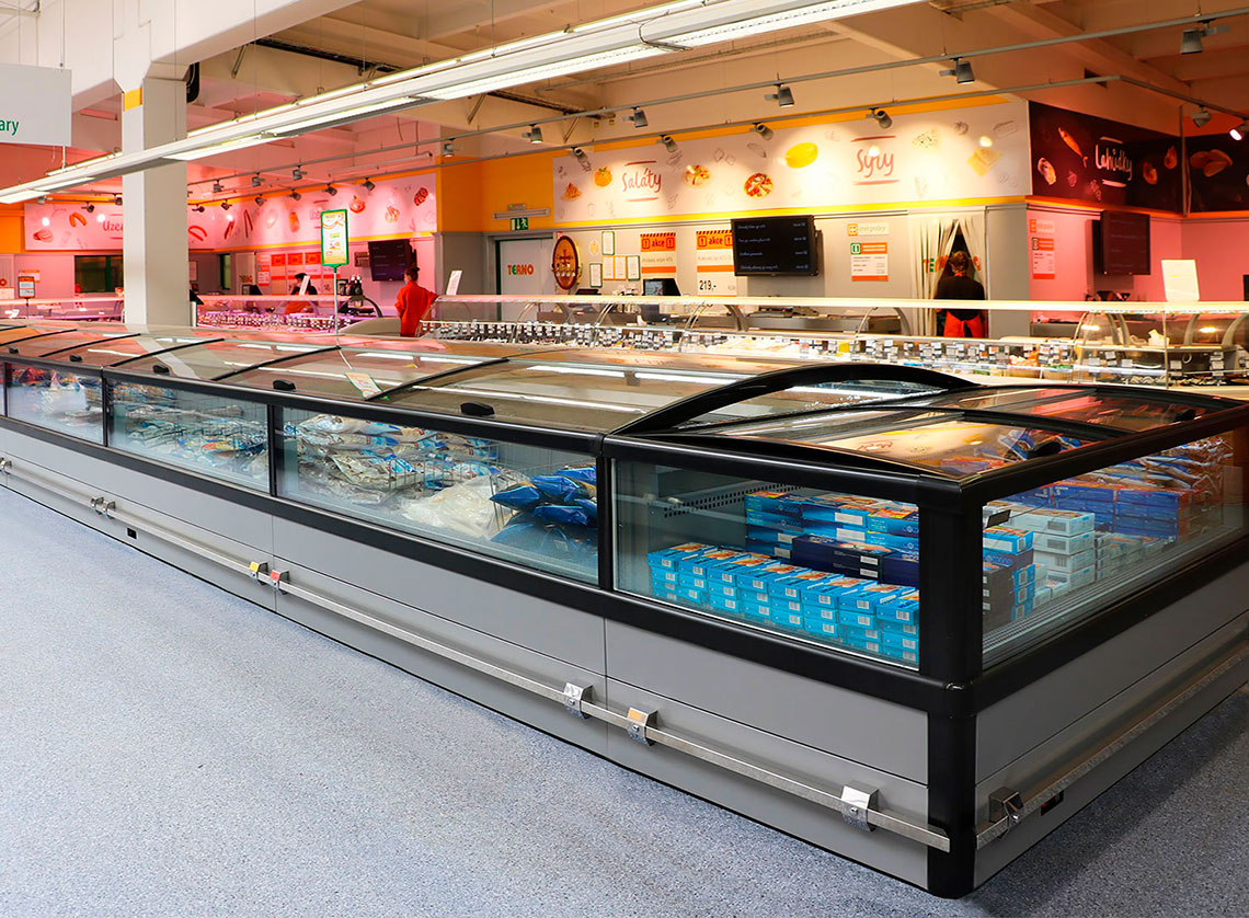 Frozen foods units Yukon cube MH 160 LT C 088-DLM