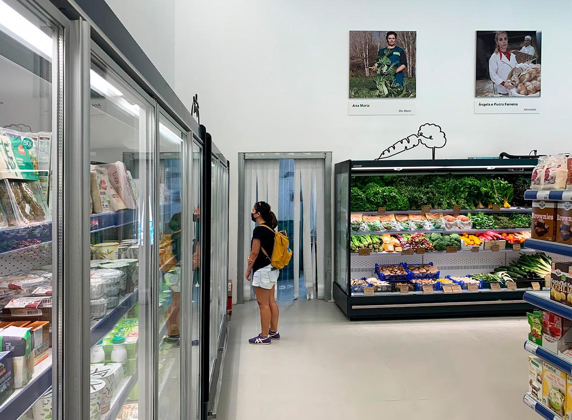 Multideck cabinets Indiana MV 080 MT D 205-DLM, specialized units for vegetables and fruit sales Indiana MV 090 FV O 205-DLM